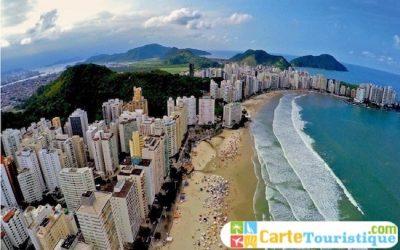 Carte touristique de Florianópolis