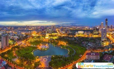 Carte touristique de Hanoi