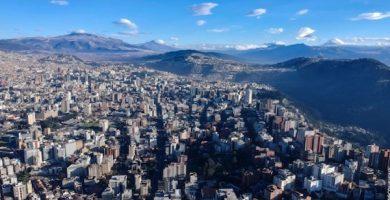 Carte touristique de Quito