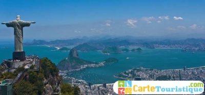 Carte touristique de Rio de Janeiro